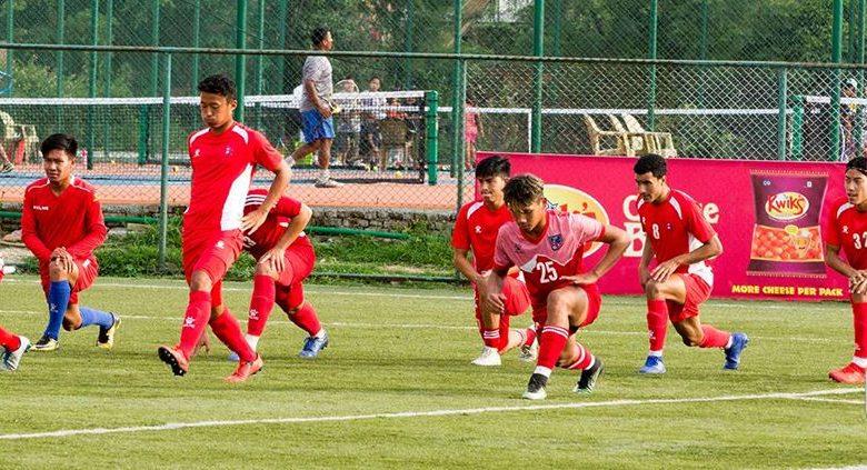 नेपाली राष्ट्रिय फूटबल टीमले बंगलादेशसँग मैत्रीपूर्ण खेल खेल्ने