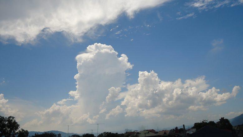 पश्चिमी वायुको प्रभाव, चट्याङसहित वर्षाको सम्भावना