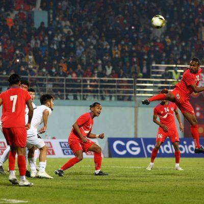 नेपालले जित्यो त्रिदेशीय कप फुटबलको उपाधि