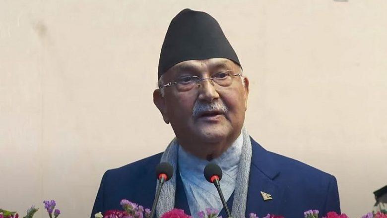 विप्लवले साहसिक निर्णय गरेसँगै अब नेपाल शान्तिपूर्ण युगमा प्रवेश गर्यो :  प्रधानमन्त्री ओली