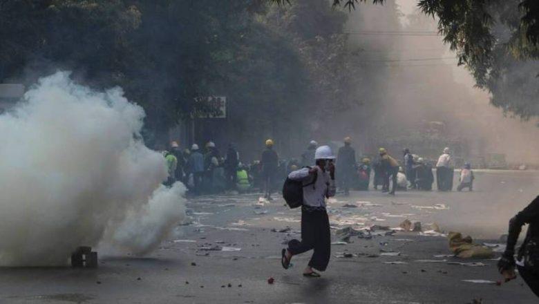 म्यान्मारमा सुरक्षाफौजको गोली : एकै दिन ३८ प्रदर्शनकारीको मृत्यु