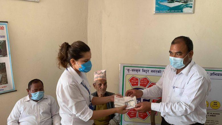 नुवाकोटमै पहिलो पटक विदुर ५ को कार्यालयले सुरु गर्यो नि:शुल्क औषधि र एम्बुलेन्स सेवा